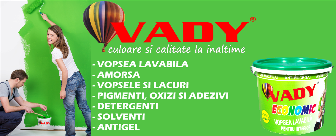 vady banner