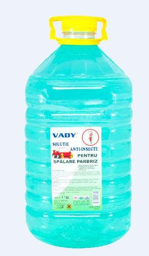 Vady Klar – solutie de spalare parbrize (pentru vara-antiinsecte)